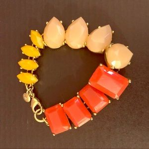 JCrew Tropical Accent Bracelet
